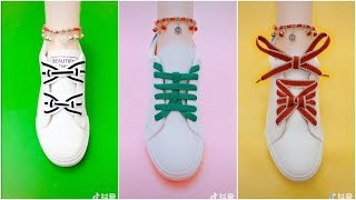 ★TOP 20 靴紐の結び方 | シンプルとユニーク! CREATIVE WAYS TO TIE YOUR SHOES