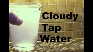 how to fix Cloudy hot tap water, Wife repairs