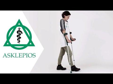 Gehen mit Unterarmstützen | Asklepios