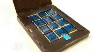 preview picture of video 'Горький шоколад «Венесуэла» Ozera Venezuela вМагазине интересных поодарков'
