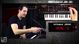 Roland JD-Xi Analog/Digital Synthesizer - Hidden Functions