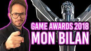 GAME AWARDS 2018 : GOTY, World Premiere et bilan 💥