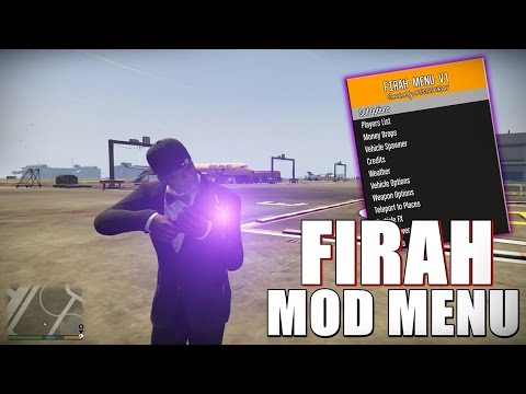 Gta 5 Firah mod menu PC online and offline - смотреть онлайн