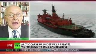 Heat over Arctic: 'Oil & gas may fuel militarization of the region'