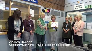 NHFT Quality Awards: NHS Ambassador   Young People's Wellbeing Team