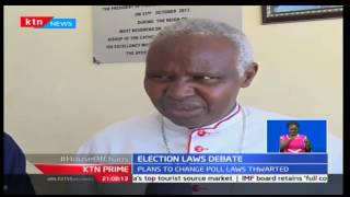 KTN Prime: Catholic clerics appeal to MPs to reach an amicable decision on Election debate