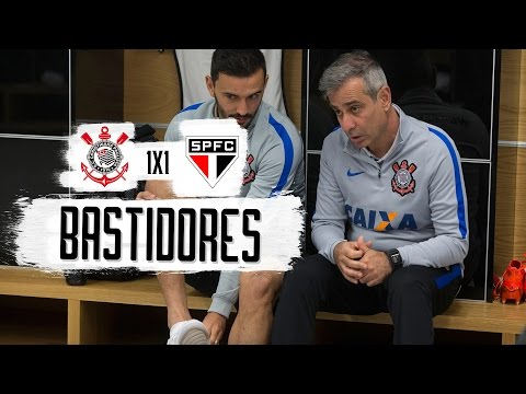 Corinthians 1 x 1 São Paulo - Bastidores - Campeonato Brasileiro 2016