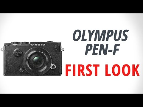 Olympus PEN-F: First Look
