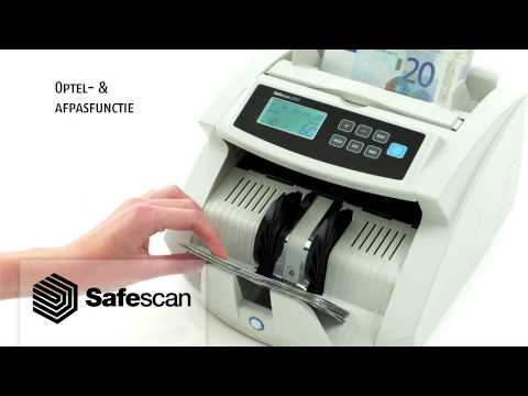 Instructievideo Safescan 2250 (art. 955019) Paardekooper BV