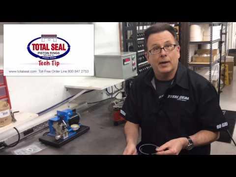 Measuring Piston Ring Free Gap With Total Seal