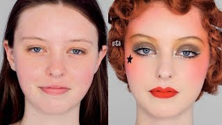 The GOLD Look - Vintage 1920s Inspired Collette Marchant Makeup