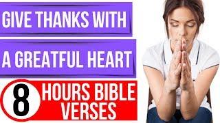 Thanksgiving Bible verses for sleep (Encouraging Scriptures)