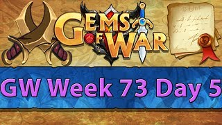 ⚔️ Gems of War Guild Wars | Week 73 Day 5 | Purple GW and 6+ Vault Keys ⚔️
