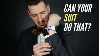 Italian Wool Fabric. Vitale Barberis Canonico suits. Is Your Suit Capable of That?