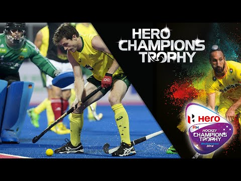 Germany vs Australia - Men's Hockey Champions Trophy 2014 India SF1 [13/12/2014]