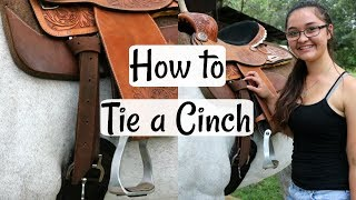 How to Tie a Cinch | Beginner's Horse Series