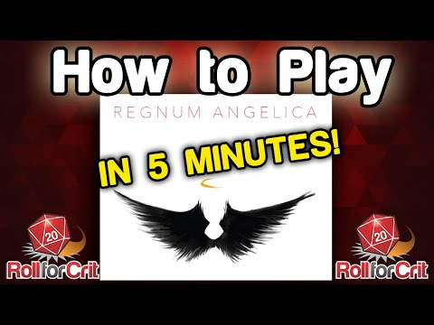 How To Play Regnum Angelica - Roll For Crit