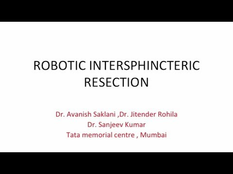 Robotic Intersphincteric Resection