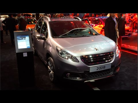 Peugeot 2008 2015 In detail review walkaround Interior Exterior