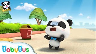 Where Do 10 Dollars Come From | Baby Panda's Magic Bow Tie | Magical Chinese Characters | BabyBus