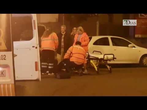 UN MOTORISTA HERIDO EN UN ACCIDENTE EN BADAJOZ