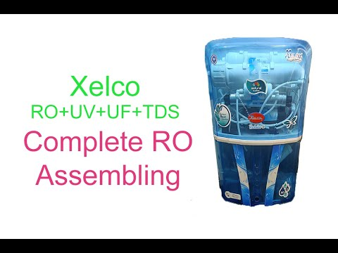 How to Assemble RO Water Purifier in Hindi | Xelco RO+UV+UF+TDS assembly and Wiring | UV Wiring