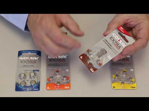 Hearing Aid Battery Information