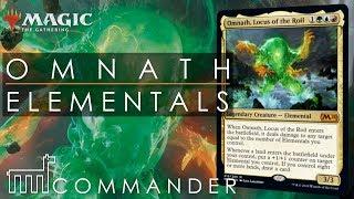 COMMANDER | Omnath Locus of the Roil - Elemental Tribal | DECK TECH | MTG