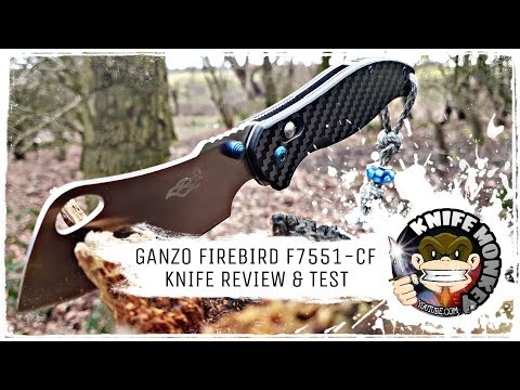 Ganzo Firebird Cleaver. The Best Ganzo Yet! (F7551-CF)