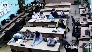 official video камера в школе на пенёк сел косарь должен :D #2018