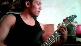 Arch Enemy Web Of Líes (GUITAR COVER) Full solo