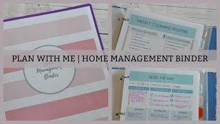 CREATING A HOME MANAGEMENT BINDER