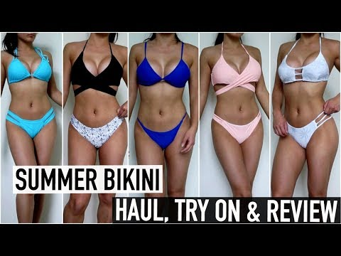HUGE Bikini Haul, Try-On & Review | Cheap & Affordable Swimwear | Zaful