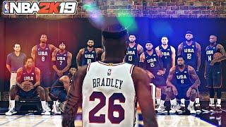 CHOOSING MY ALL STAR TEAM   NBA 2K19
