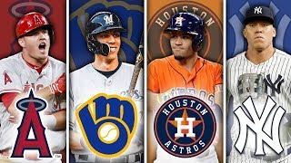 BEST MLB PLAYER FROM EVERY TEAM