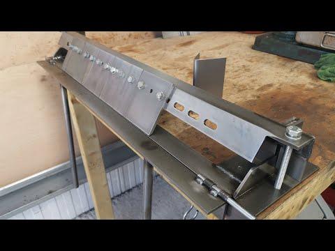 Home Made Box Pan Brake for bending sheet metal