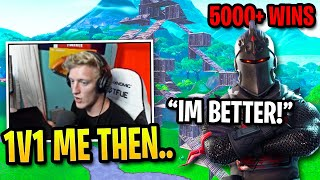 Tfue Challanges Player with 5000 Wins to 1v1 then this happened...