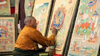 preview picture of video 'Тибетская область Кхам, район Гарцзе в Восточном Тибете'