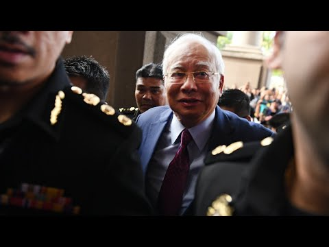 Former Malaysian PM Najib charged with corruption