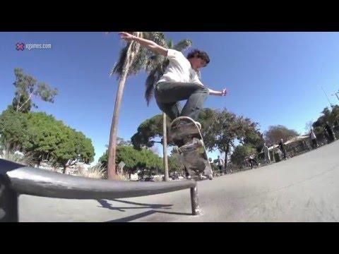 X Games Trick Tips -- Cole Wilson backside nosegrind