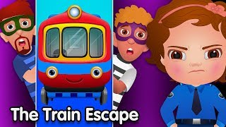ChuChu TV Police Vs Thief Surprise Eggs – Episode 06 (SINGLE) – The Train Escape