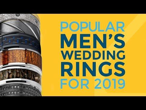 Popular Mens Wedding Rings for 2019