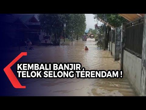 Banjir Kembali Rendam Desa Telok Selong, Status Siaga Banjir Kabupaten Banjar Masih Berlaku