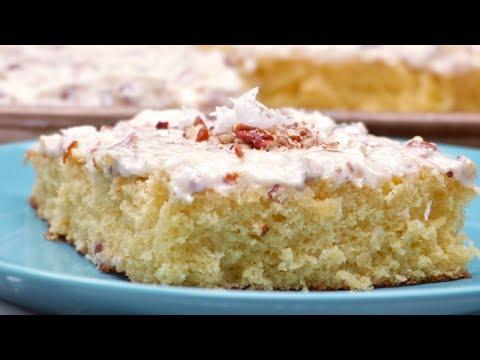 Italian Cream Sheet Cake ~ So Fluffy!!!