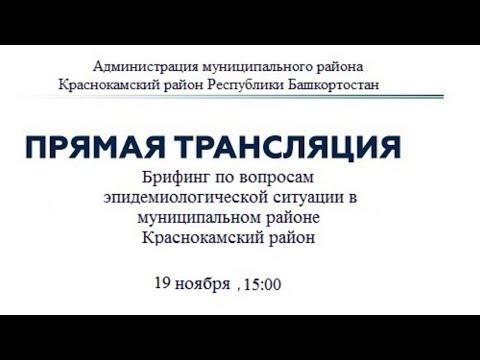Брифинг от 19.11.2020 г. по вопросам профилактики коронавирусной инфекции