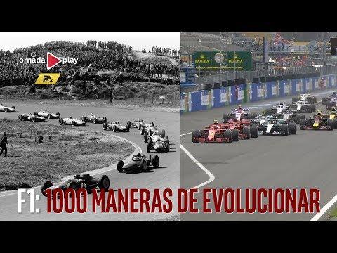 F1: 1000 modos de evolucionar