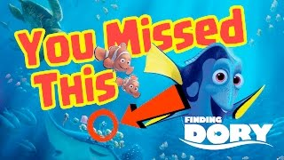 Finding Dory Easter Eggs You Missed!