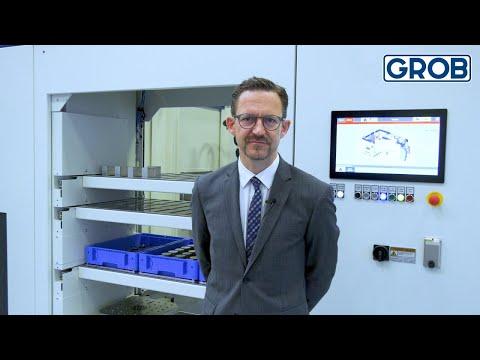 GROB Product Stories – GROB robot cell - GRC-R240