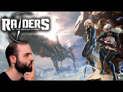 Gameplay de Raiders of the Broken Planet