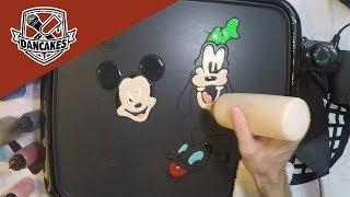 Mickey, Donald, Goofy Pancake Art LIVE